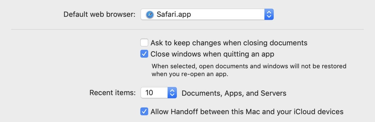 mac911 autosave option general preference
