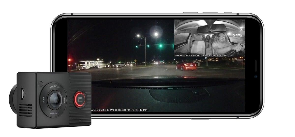 mcjt 28827 dash cam tandem composite tandem with smartphone img4