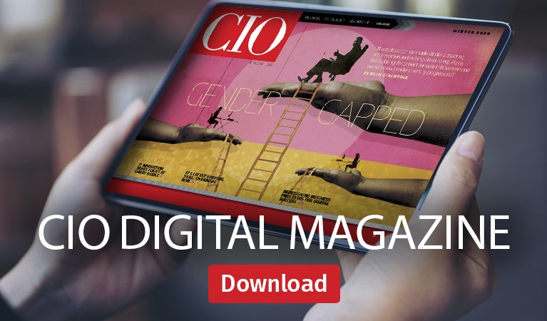 CIO digital magazine, Winter 2020