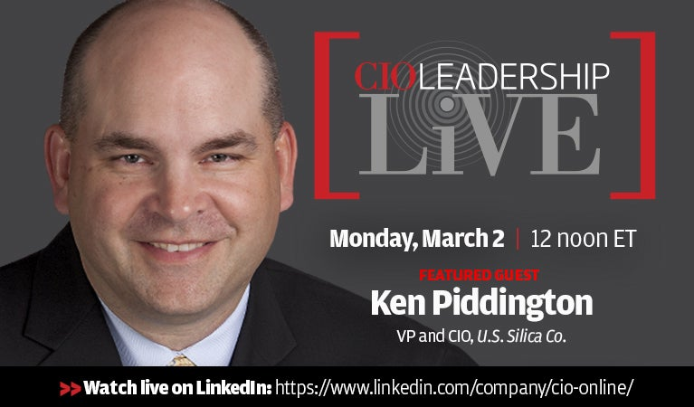 CIO Leadership Live, Monday, March 2