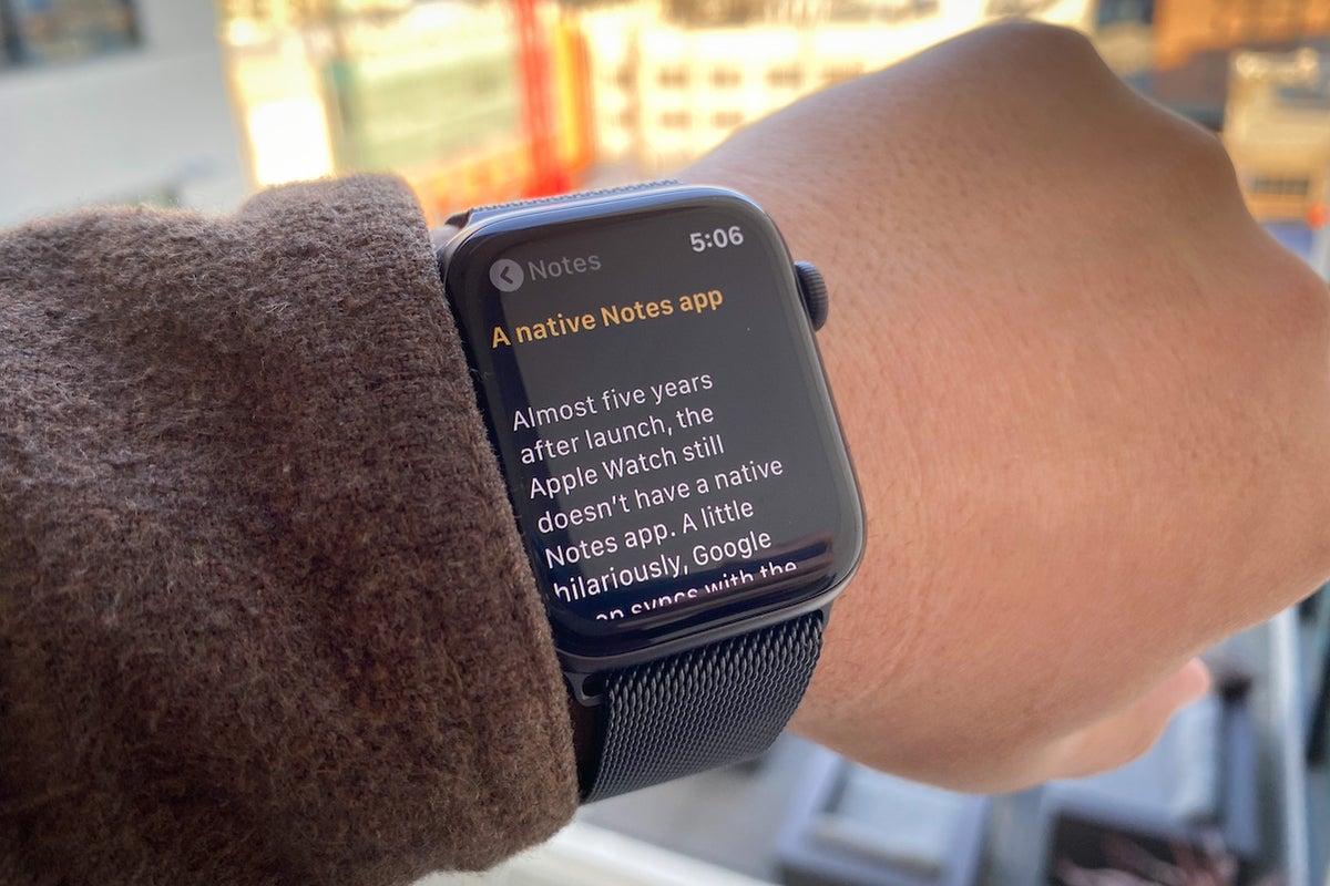 native notes app