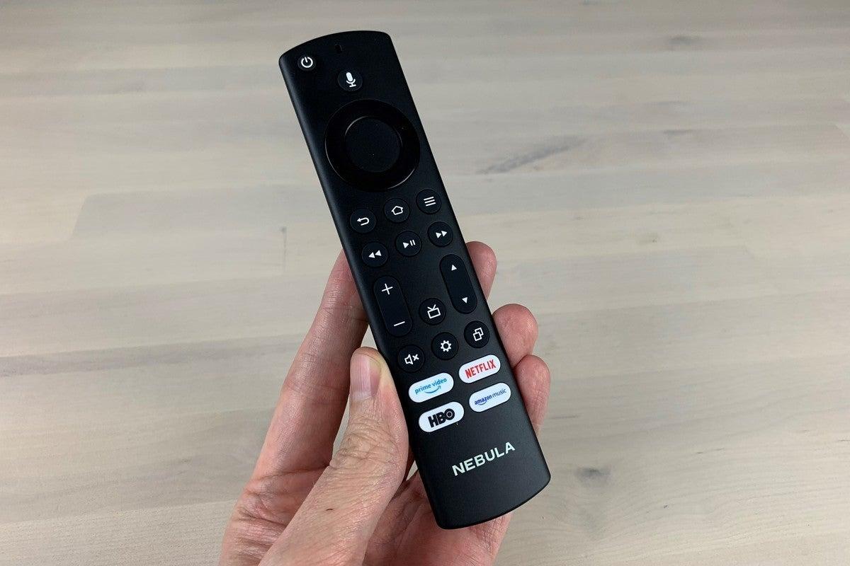 nebula soundbar fire tv edition remote