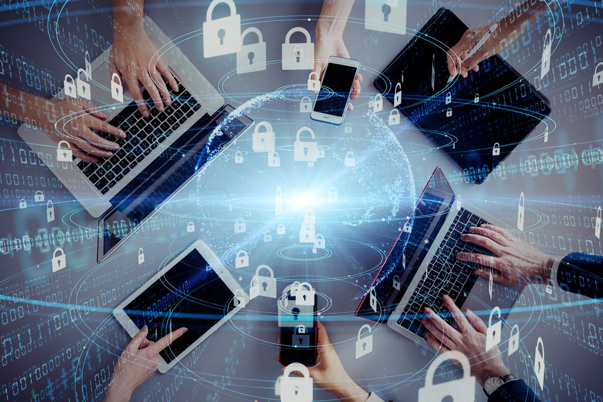 security covid collaboration tech tools mean network getty metamorworks risks