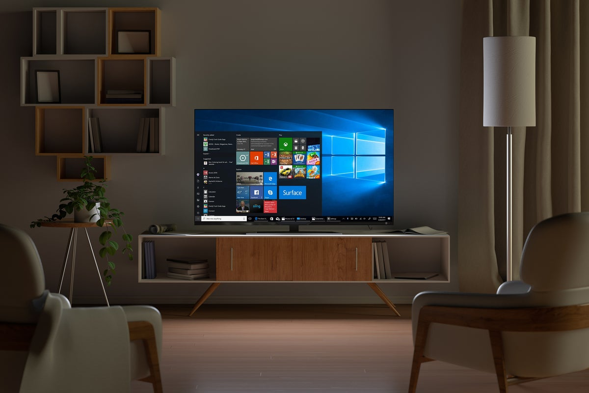 pcw windows10 tv