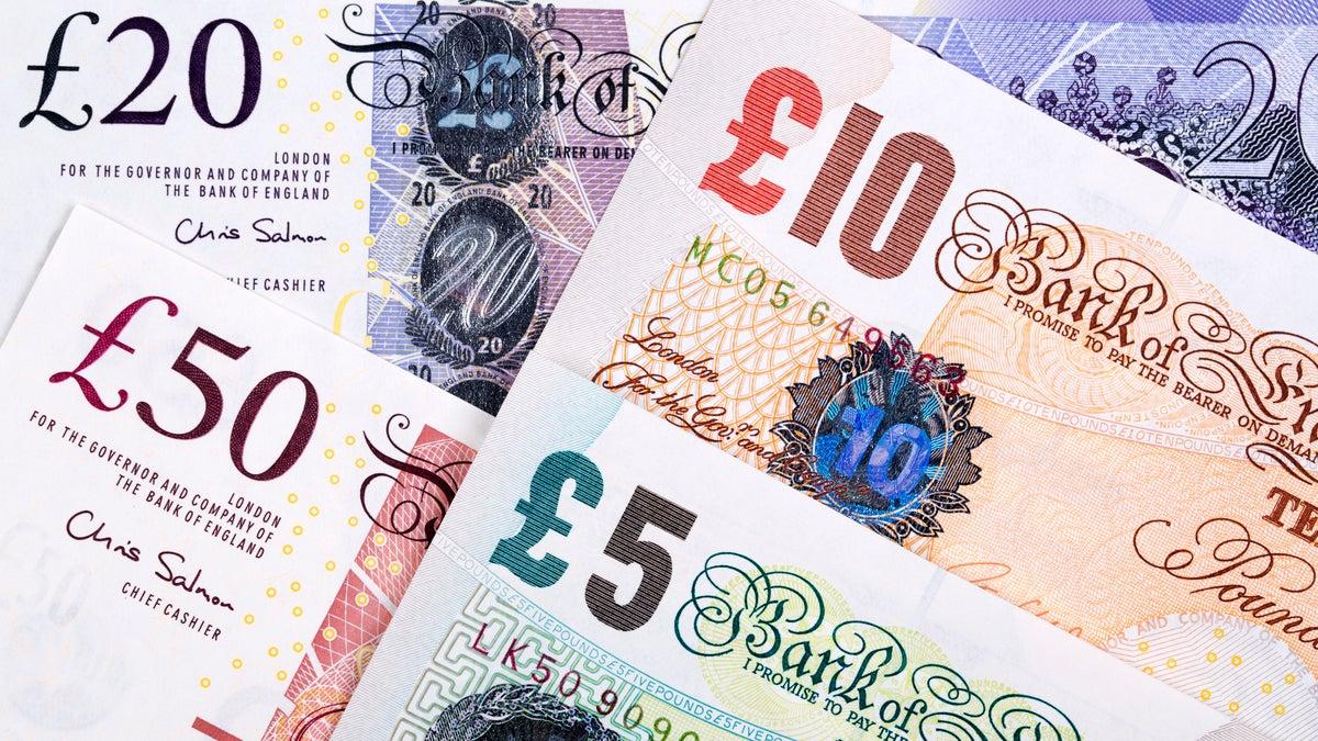 pound sterling getty user johan10