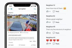 ring neighbors app neighborly moments