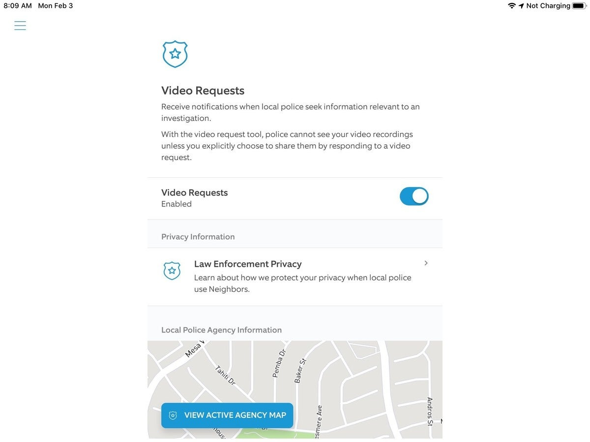 ring police request for video 2