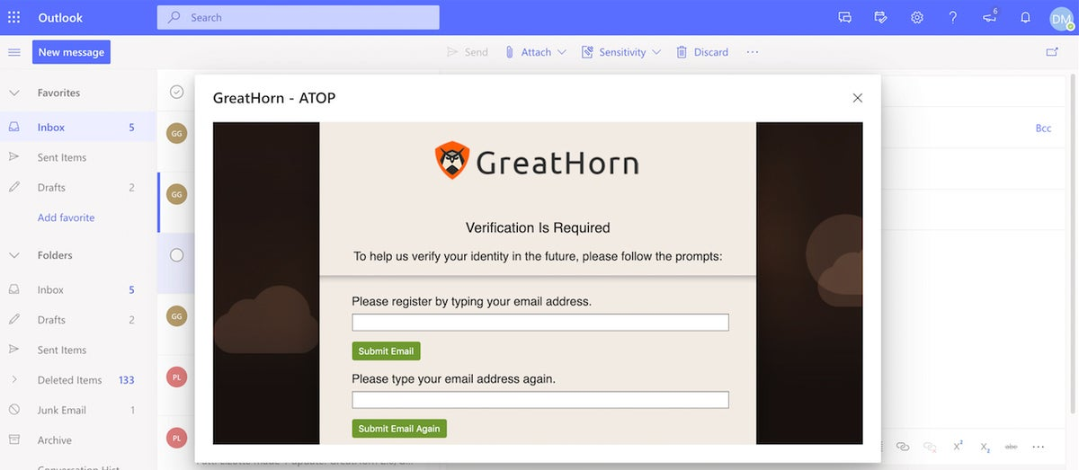 GreatHorn: Account Takeover Protection