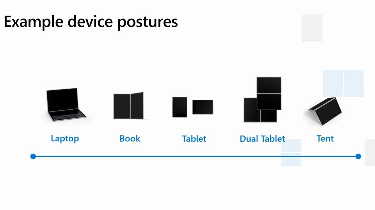 Microsoft windows 10x device postures better