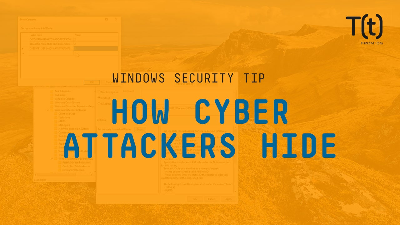 How cyber attackers hide malware on your network