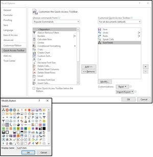 04 menambahkan makro ke tombol kustom pada toolbar akses cepat