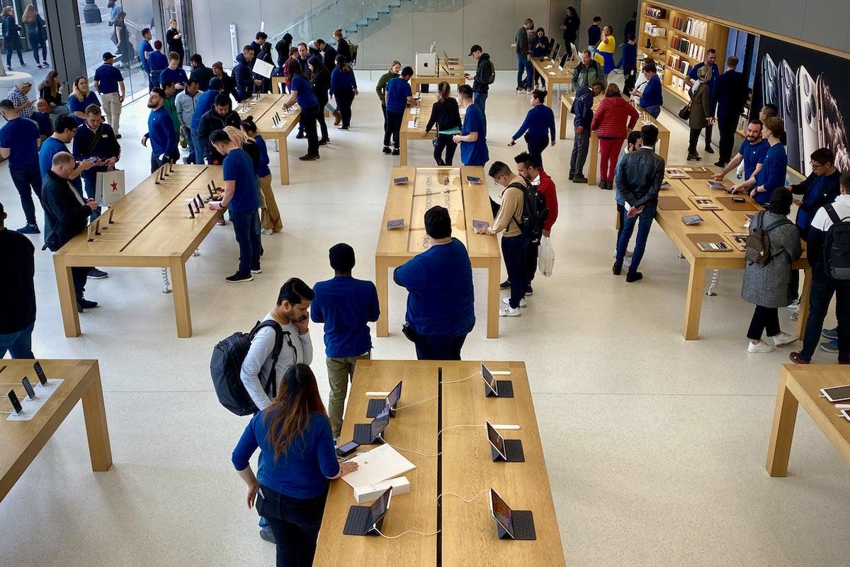 apple store union square san francisco