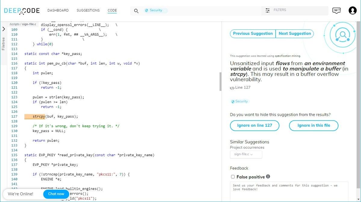 deepcode code analysis