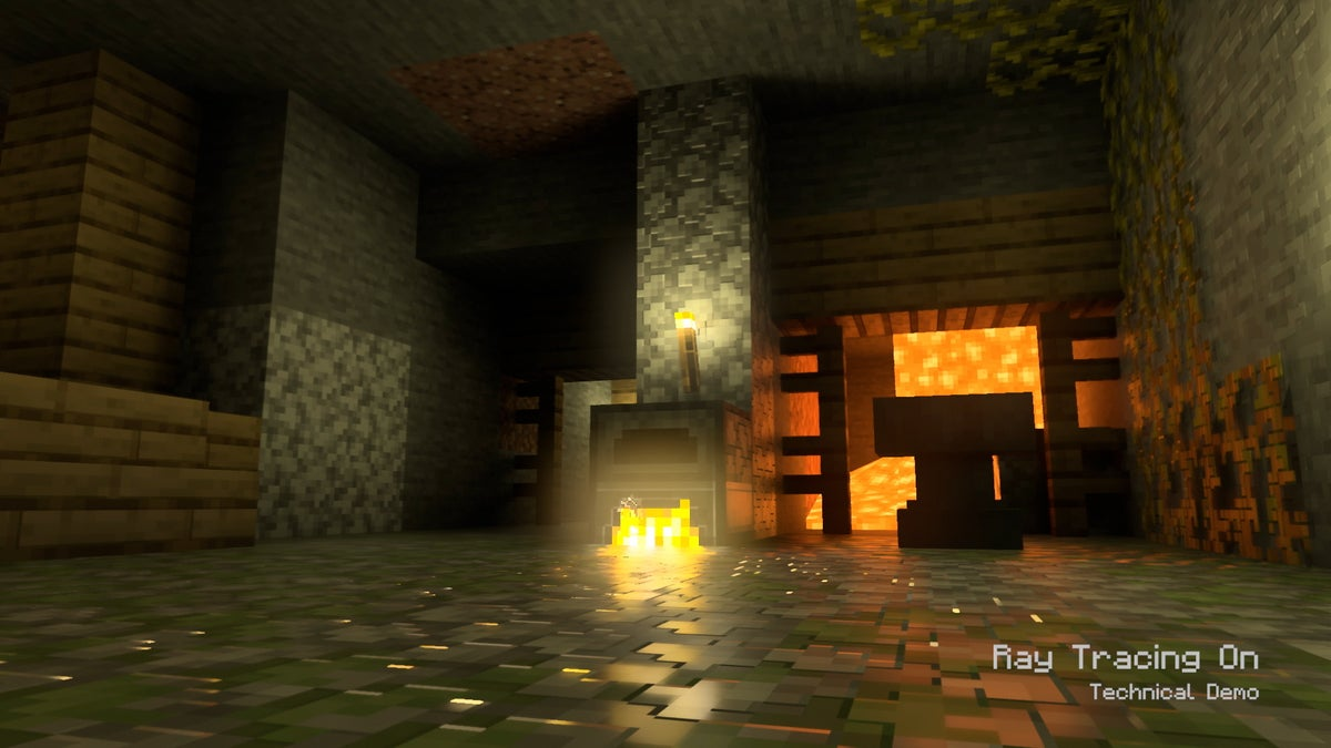 directx raytracing minecraft