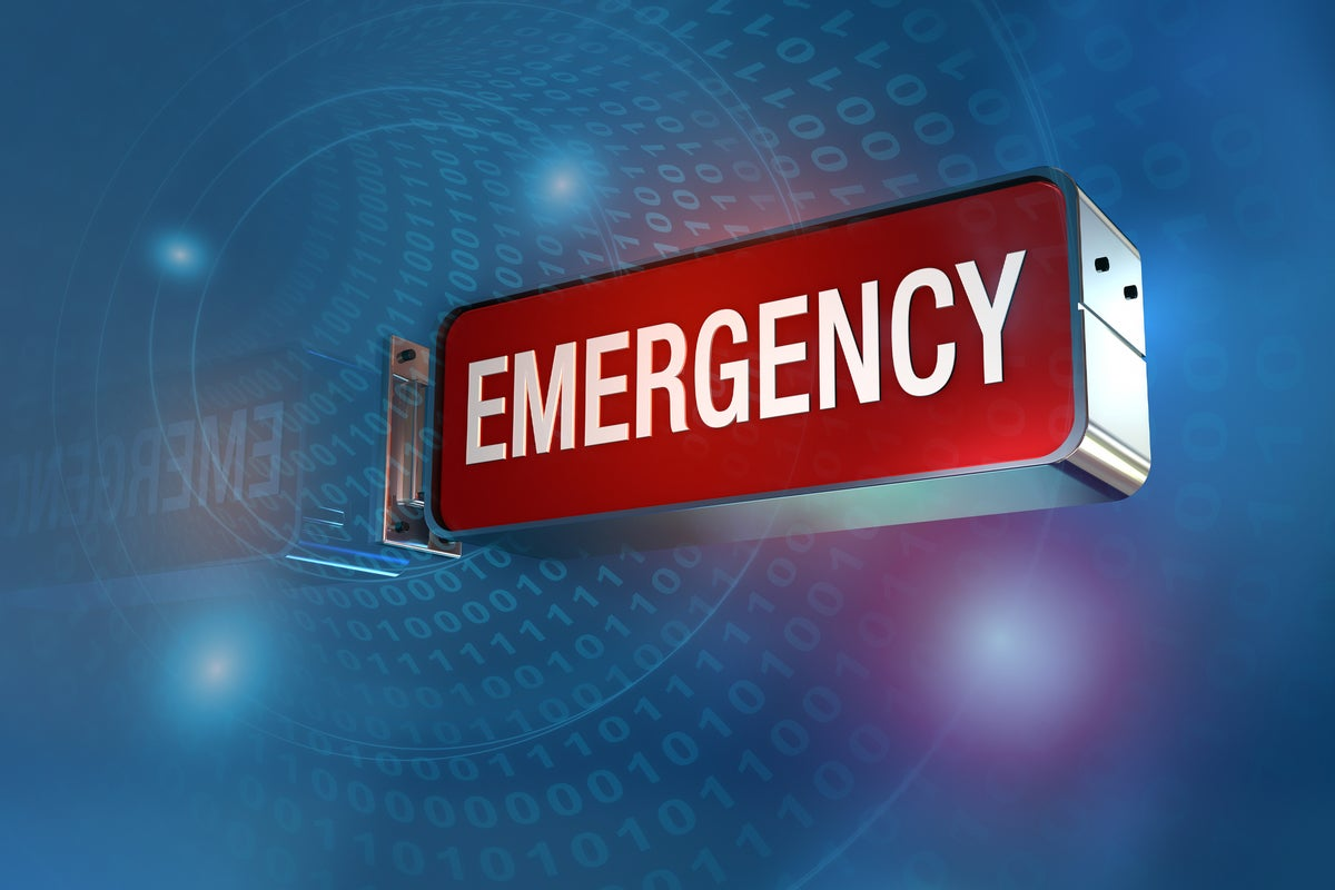 emergency disaster recovery business continuity binary by dsgpro getty images 182712891