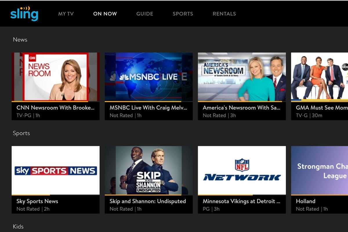 Sling TV serves up 14 days of free Sling Blue service for new subscribers who are stuck at home