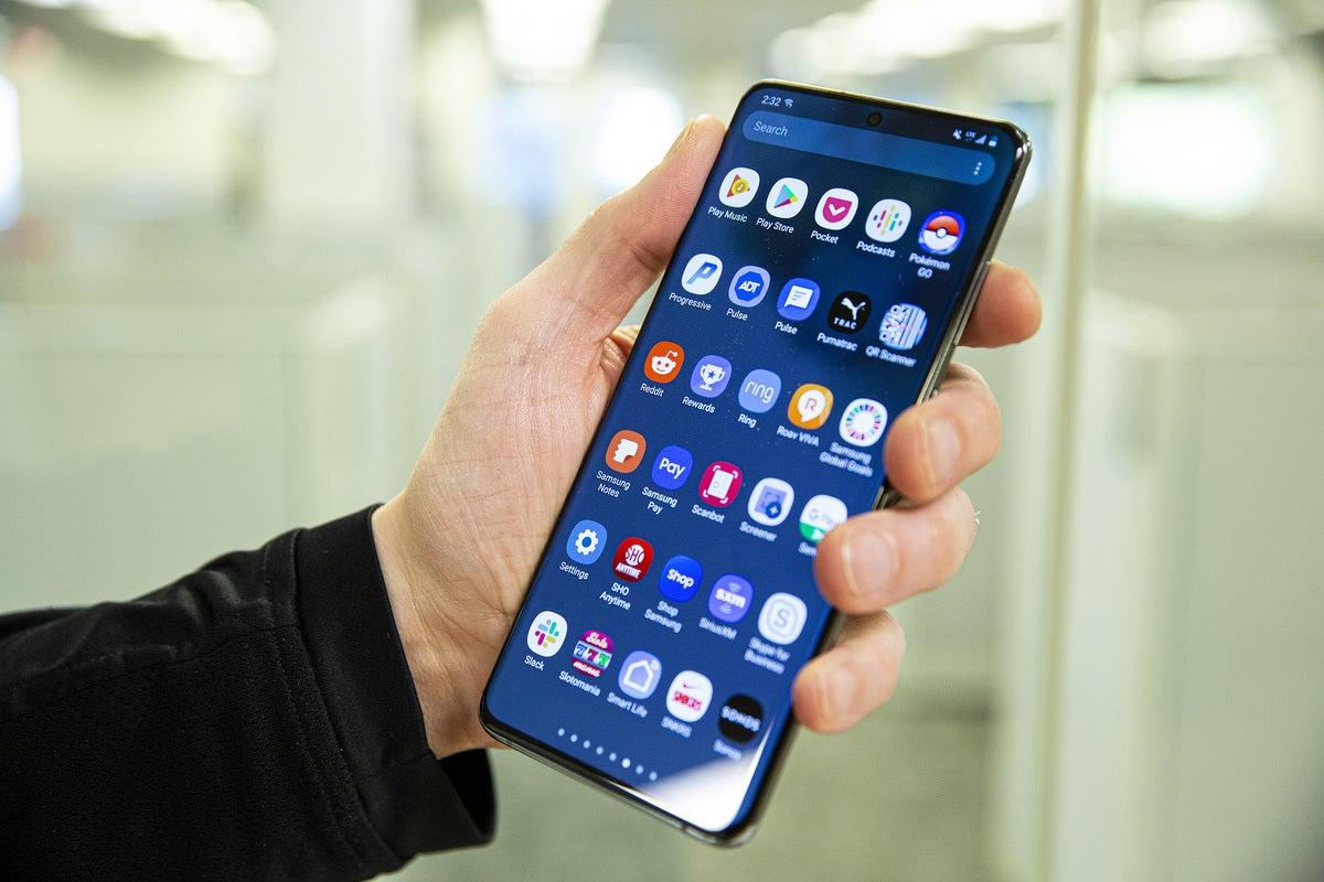 galaxy s20 ultra apps