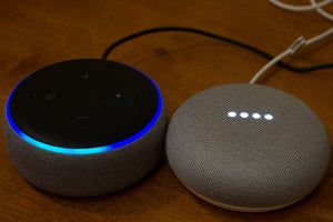 google home and amazon echo listening