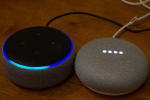 google home and amazon echo listening