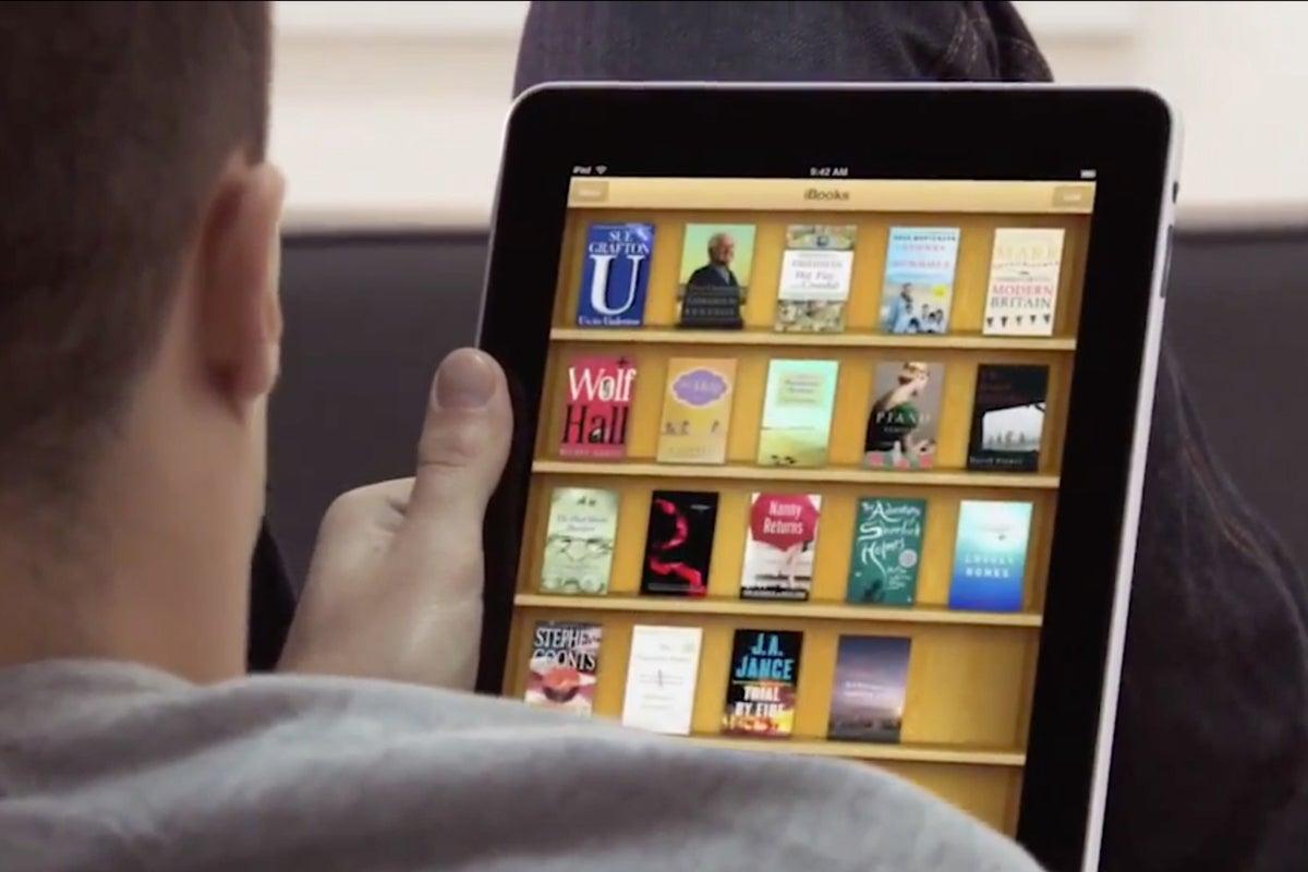 ipad 2010 ibooks