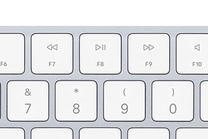 mac keyboard play pause