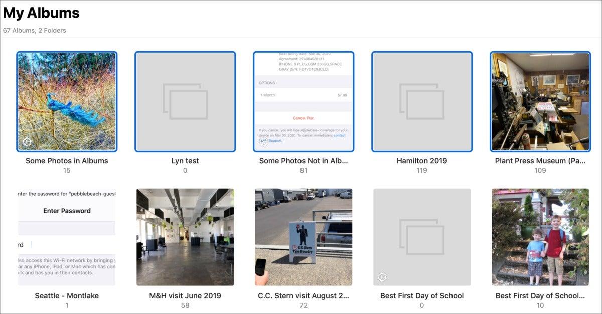 mac911 my albums select