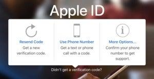 mac911 text 2fa apple login