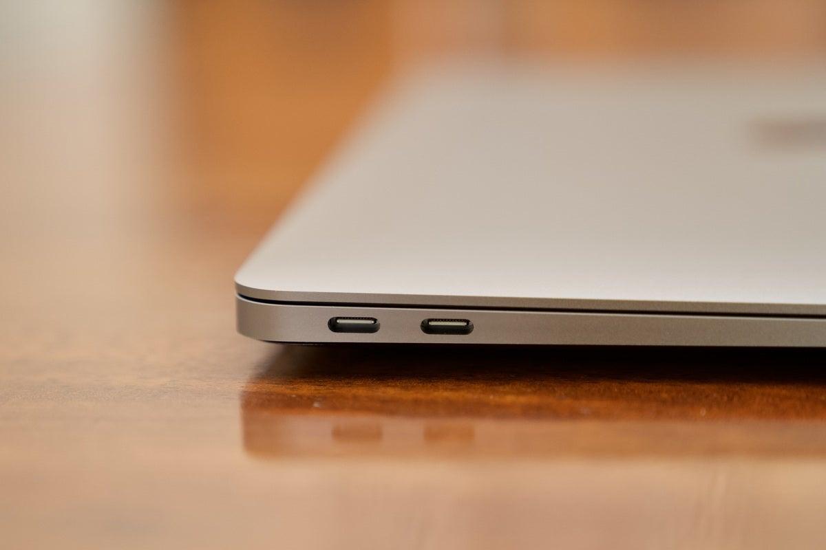 macbook air 2020 ports