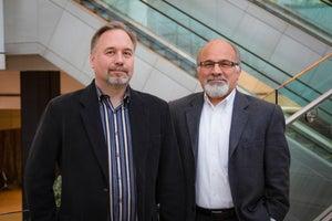 Matt Breed, CIO, and Skip Tavakkolian, senior systems architect, Port of Seattle
