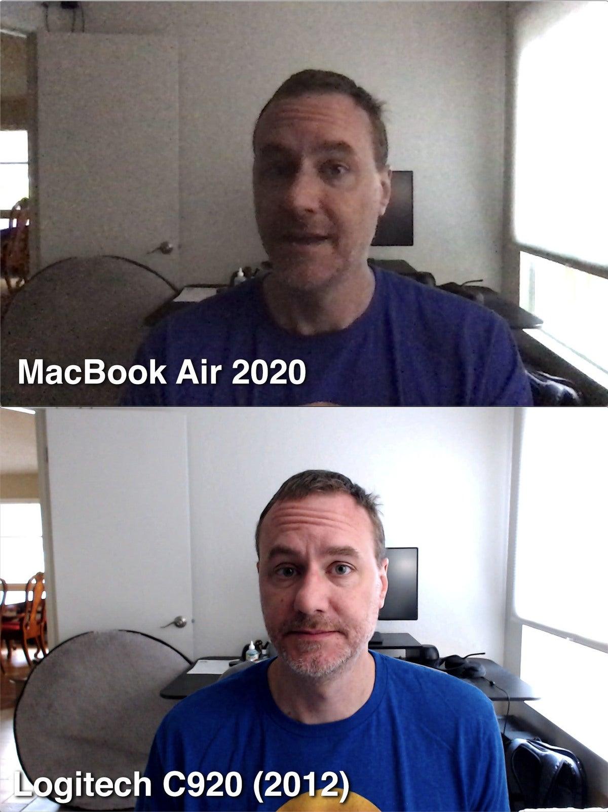 mb air 2020 webcam
