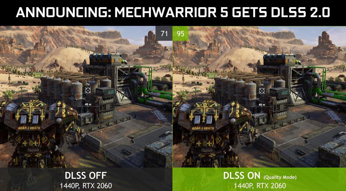 mechwarrior dlss 2