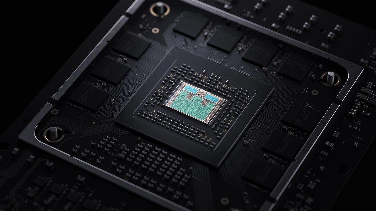 microsoft xbox series x chip