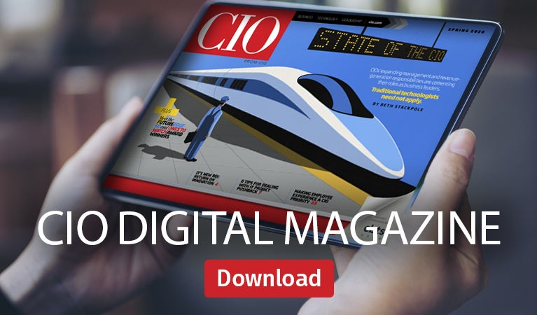 CIO digital magazine, Spring 2020