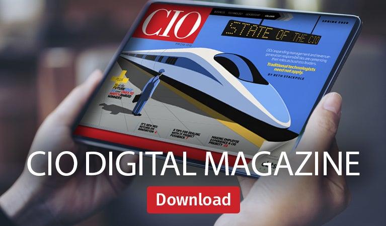 CIO digital magazine, Spring 2020