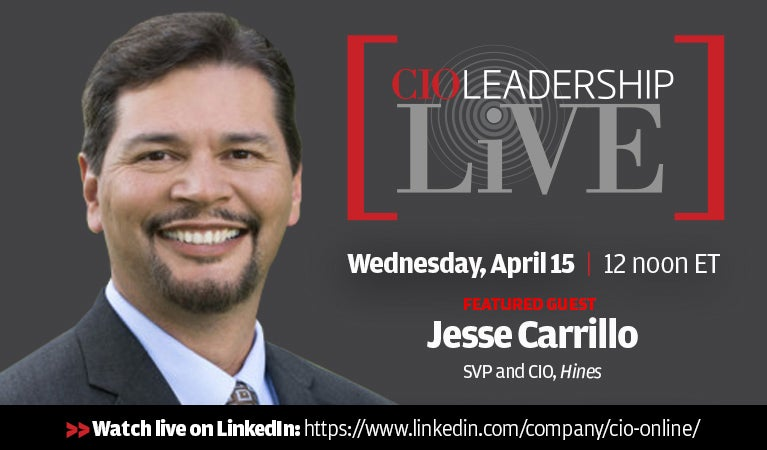 CIO Leadership Live, Monday, April 15