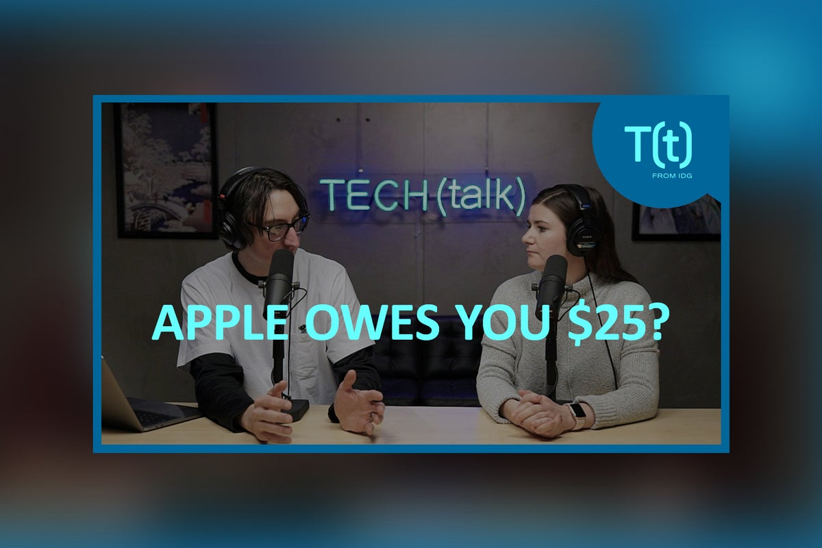 Apple may owe you 25 dollars