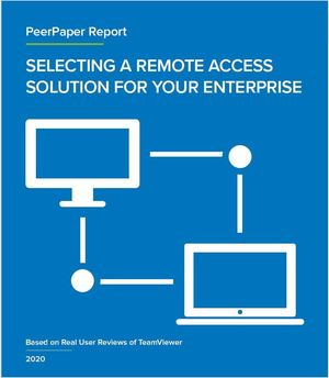 Insider Pro and ITCS: remote access peer report