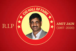 Amit Jain - CIO100 Hall of Fame recipient remembered by peers