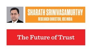 sharath srinivasamurthy the future of trust