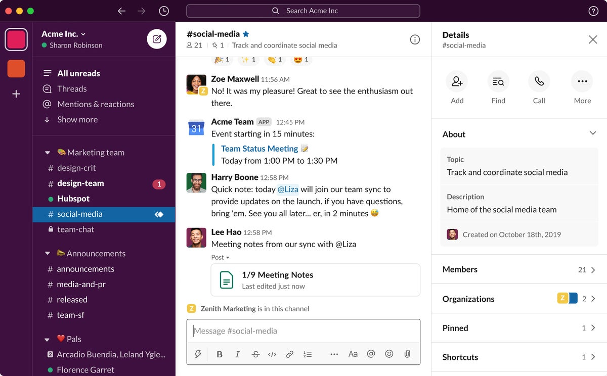Slack Targets Non Tech Users With Ui Design Tweaks Computerworld