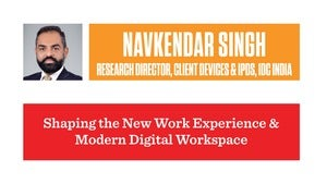Navkendar Singh - Research Director, Client Devices & IPDS, IDC India