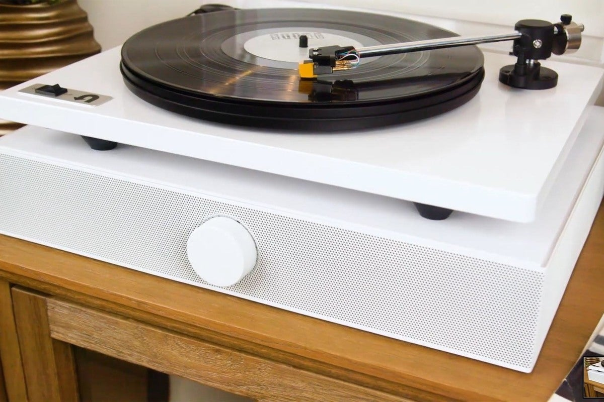Andover Audio Spinbase review An all – in – one speaker system for your turntable