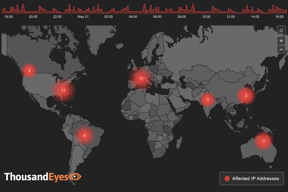thousandeyes map