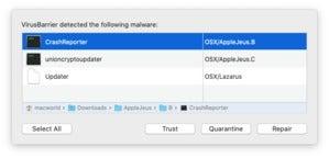 virusbarrierdetection