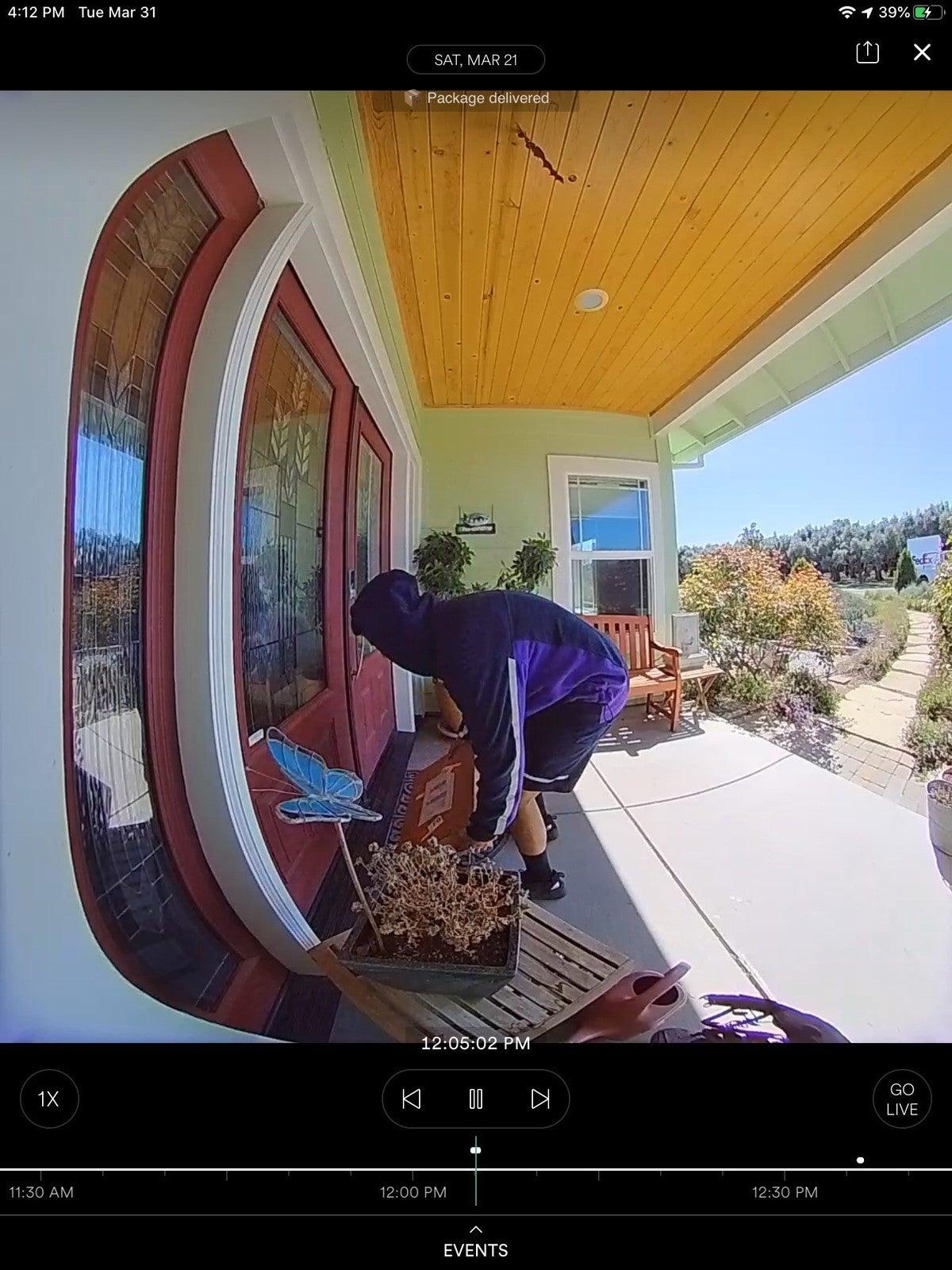 بسته حرفه ای تشخیص زنگ دوربین vivint