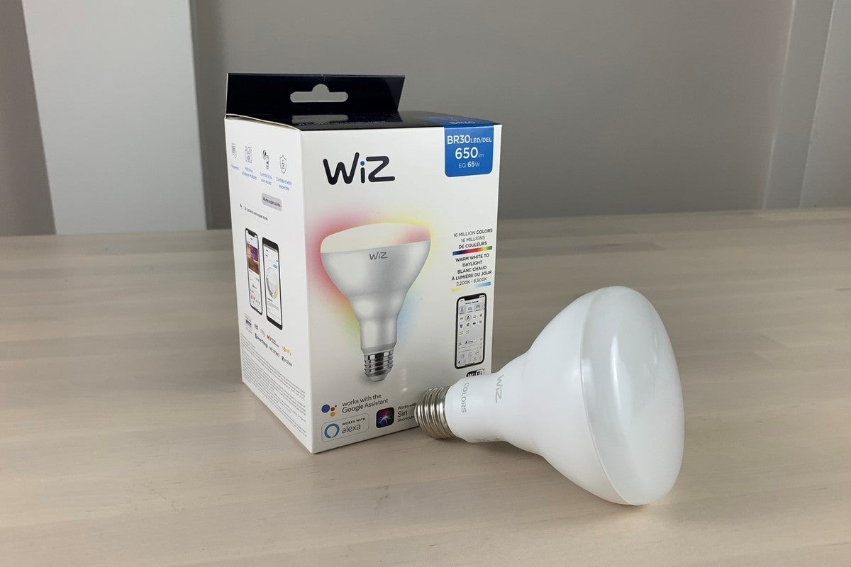WiZ Connected BR30 Colors smart bulb review An affordable Wi – Fi floodlight that doesn't require a hub