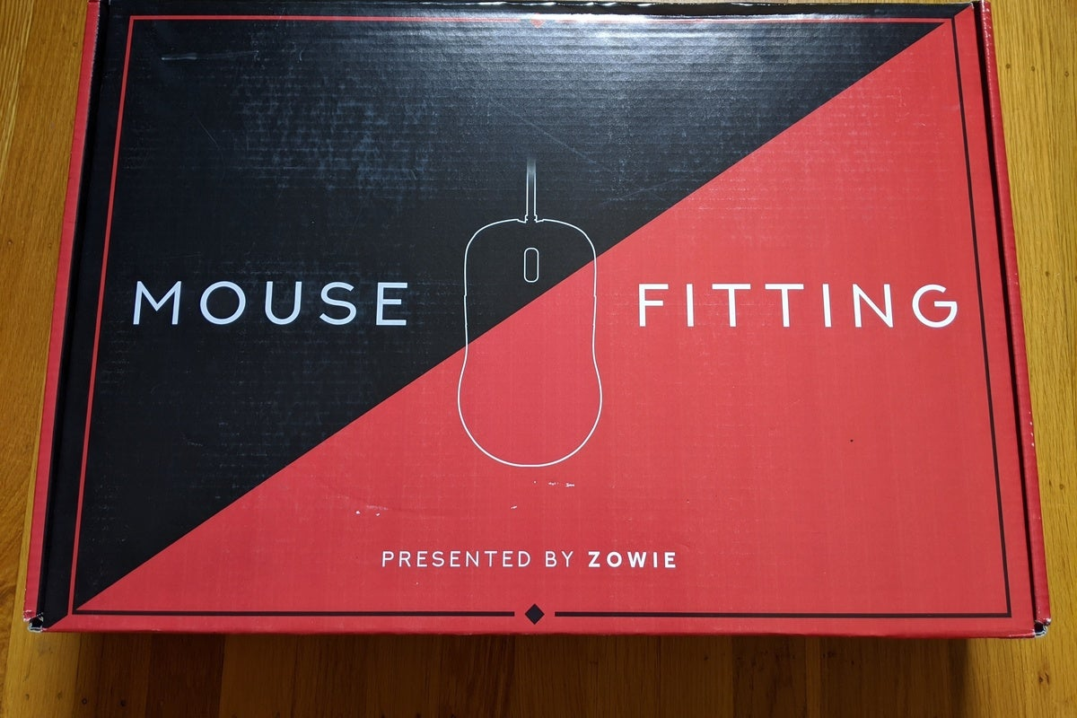 The Zowie Mouse Fitting Kit is a try – before – you – buy option for gaming mice