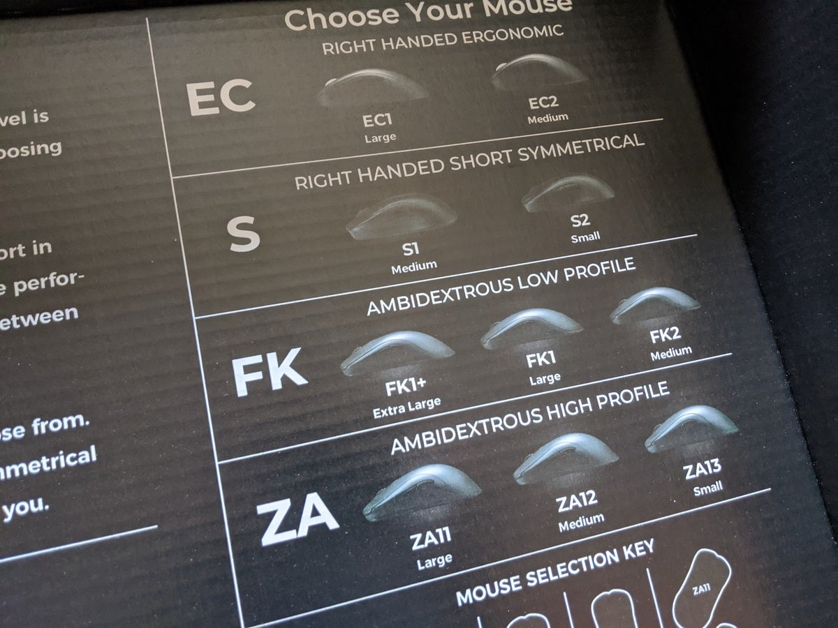 Zowie Mouse Fitting Kit