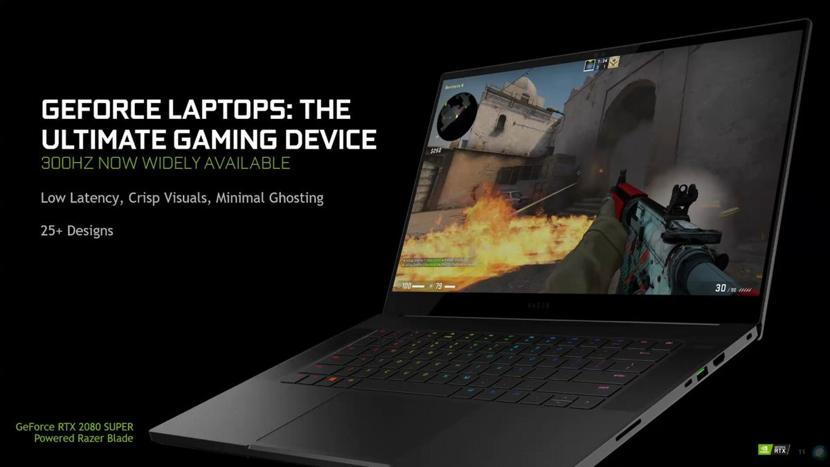 300hz rtx laptops