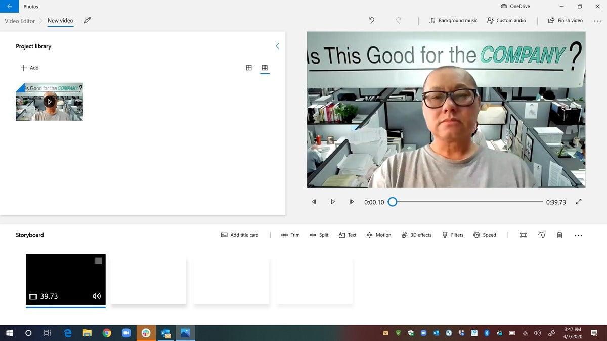 a open video editor